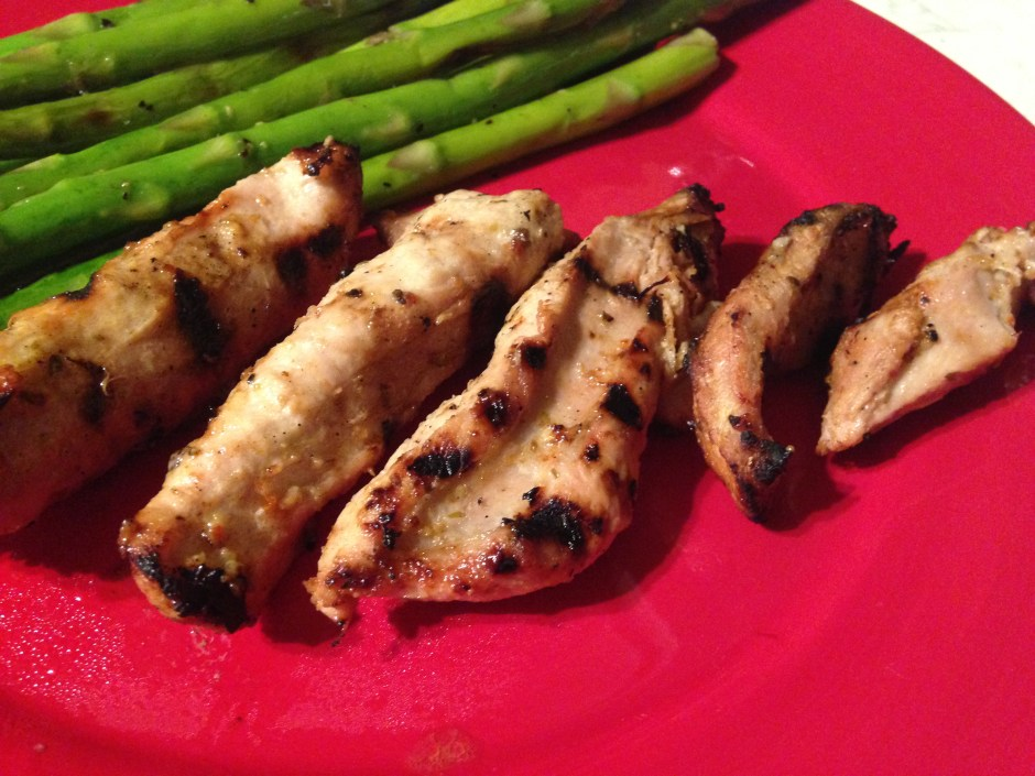 Marinated Wild Turkey Breast