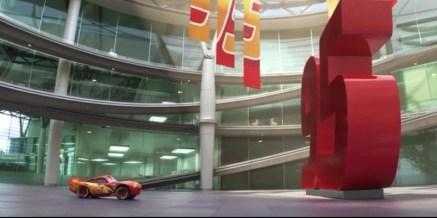 lightning drives into racing center