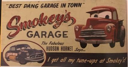 smokey's garage cars 3