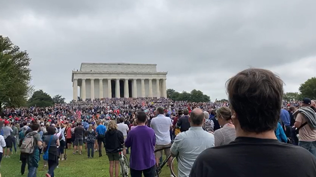 Prayer March 2020, D.C.