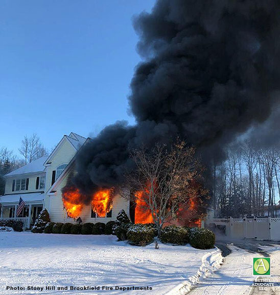 Stony Hill Brookfield Fire Depts And Other Fire