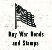 War bonds ad in 1943 Clarion issue