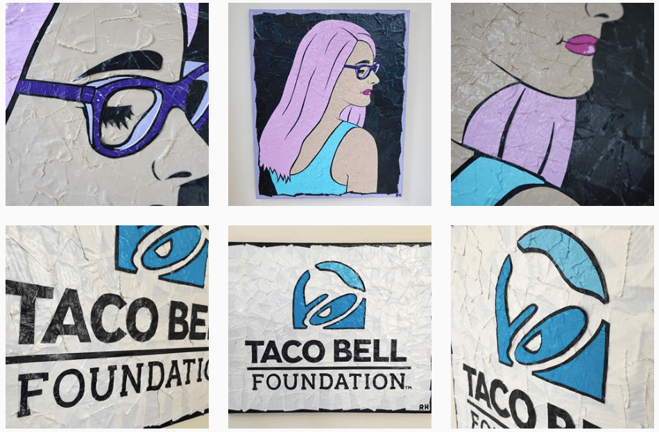 4_ Taco Bell Foundation and Portrait Art