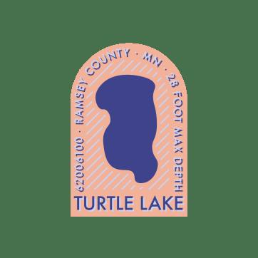 Turtle Lake Badge