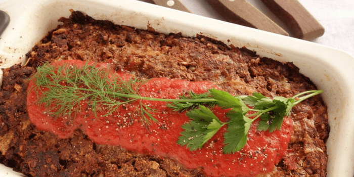 Easy Bolognese Meatloaf