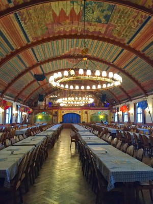 Munich's famous Hofbräuhaus, a popular meeting place for the National Socialists in the 1920s (Angela Stephens)