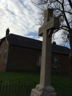 Irish memorial in Guillemont