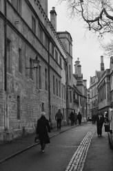 An Oxford street