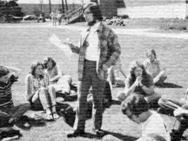 GW during a May 1972 teach-in
