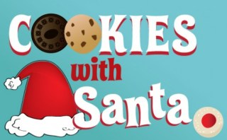Image result for cookies with santa