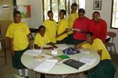 MGLSS girls studying