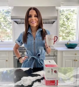 Bethenny with Coffee