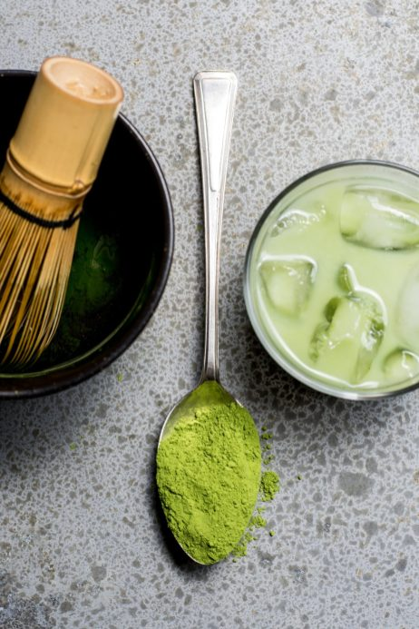 Have a little matcha with nut milk.