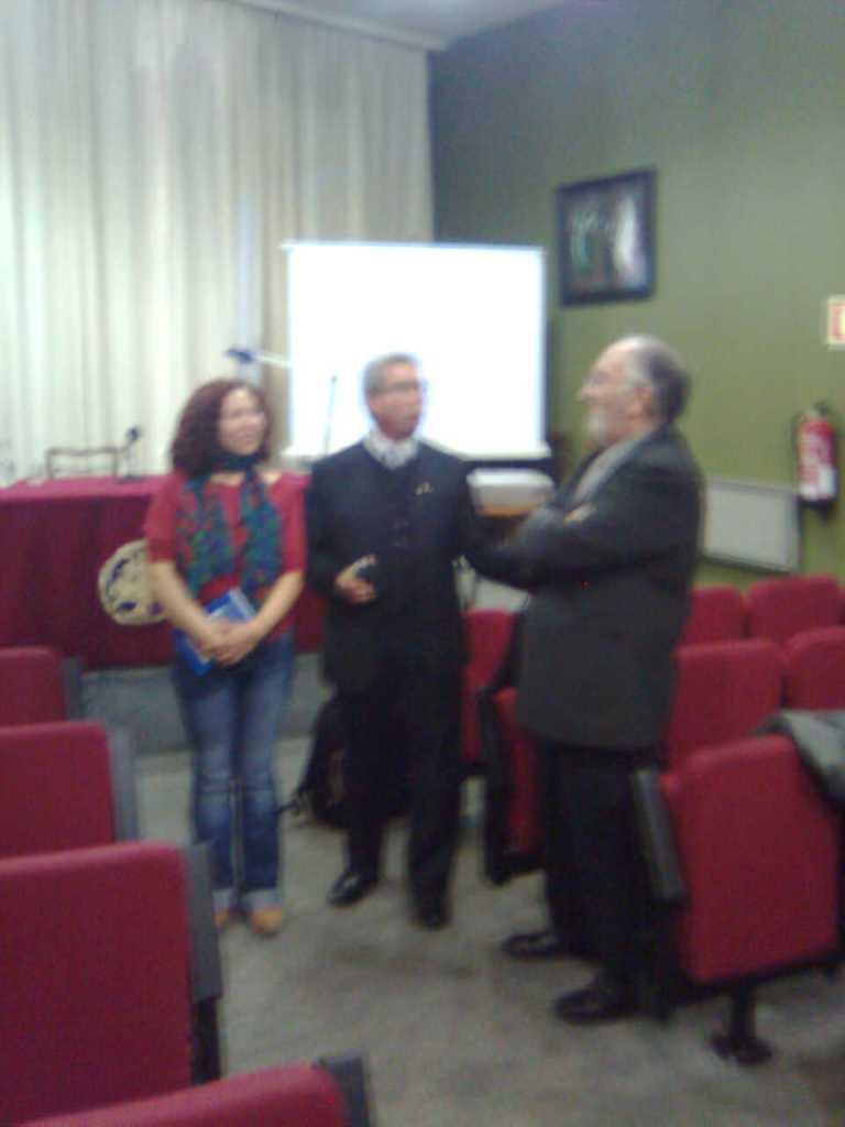 Elizabeth Firmino_Armindo Bião_Angel Berenguer_Doctorado en Teatro_Universidad de Alcalá de Henares_Madrid 2008