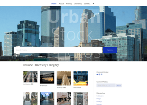 urban stock photography website