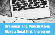 Grammar and Punctuation: Make a Great First Impression