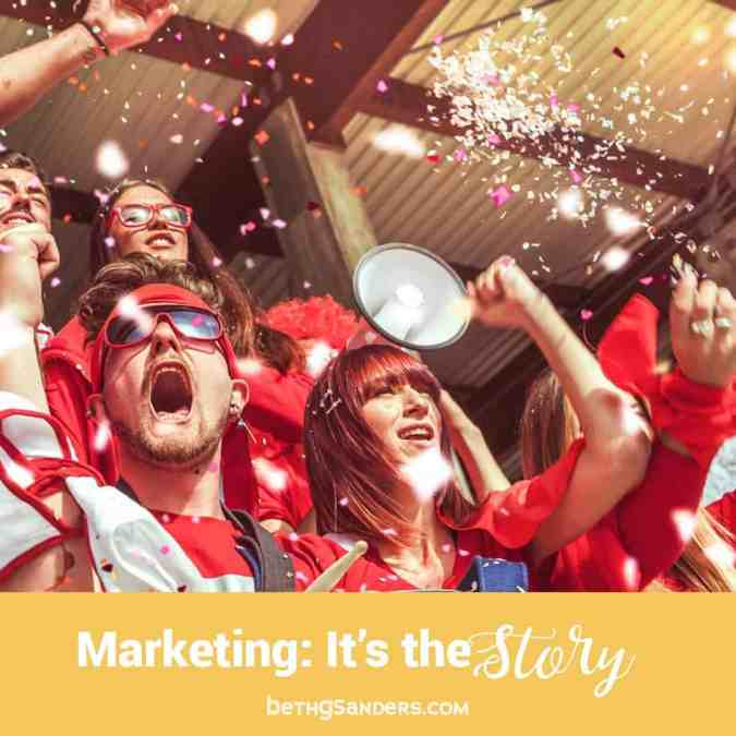 Small Business Marketing: Tell a Story
