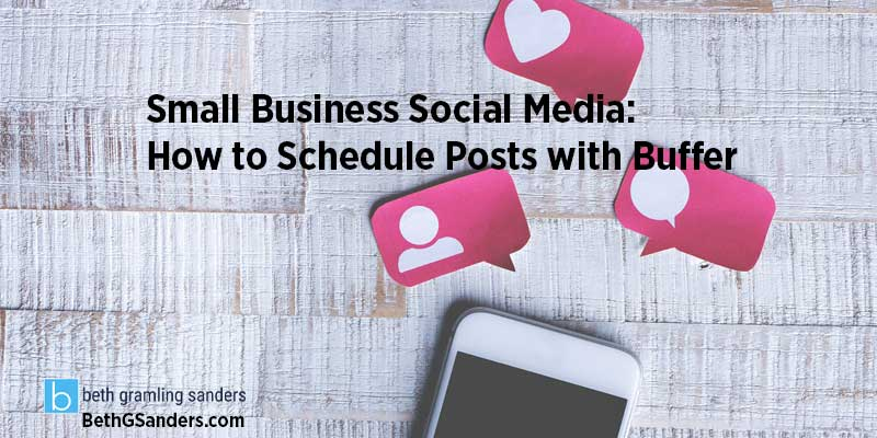 small business social media consultant