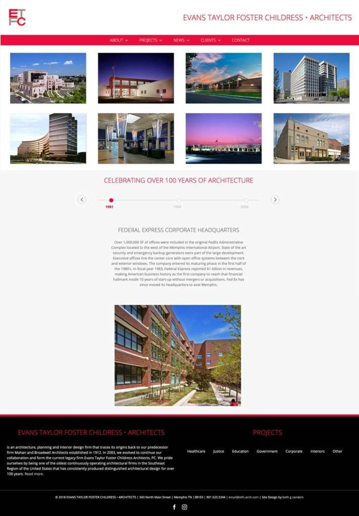 architects website