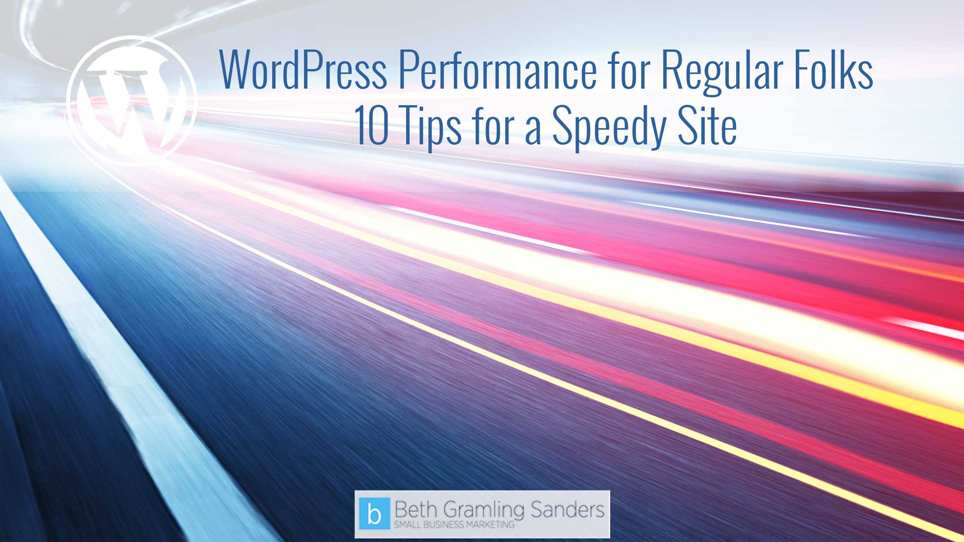 wordpress performance