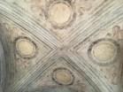 The ceiling above Michelango's Pieta in the Castle Sforza