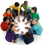 Children-in-a-circle