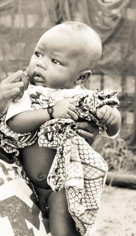 Baby Ousman in Misera