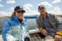 Sailing with Maggie and Terry