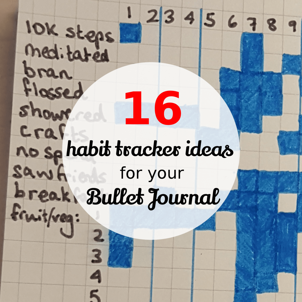 16 Habit Tracker Ideas For Your Bullet Journal The Beth