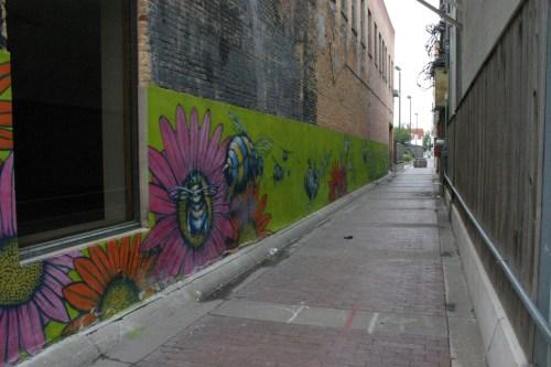 Salina downtown alley Kansas Oct 2009