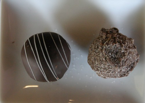 Sweet Guy mint and cinnamon infused truffles KC Oct 2009