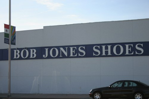 Bob Jones Shoes exterior KC Oct 2009