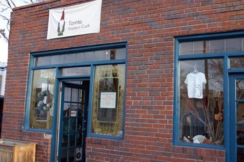 Denver shops tomte modern craft beth partin restore for Craft stores denver co
