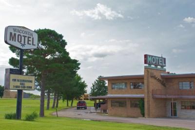 Kansas motels, Beth Partin's photos