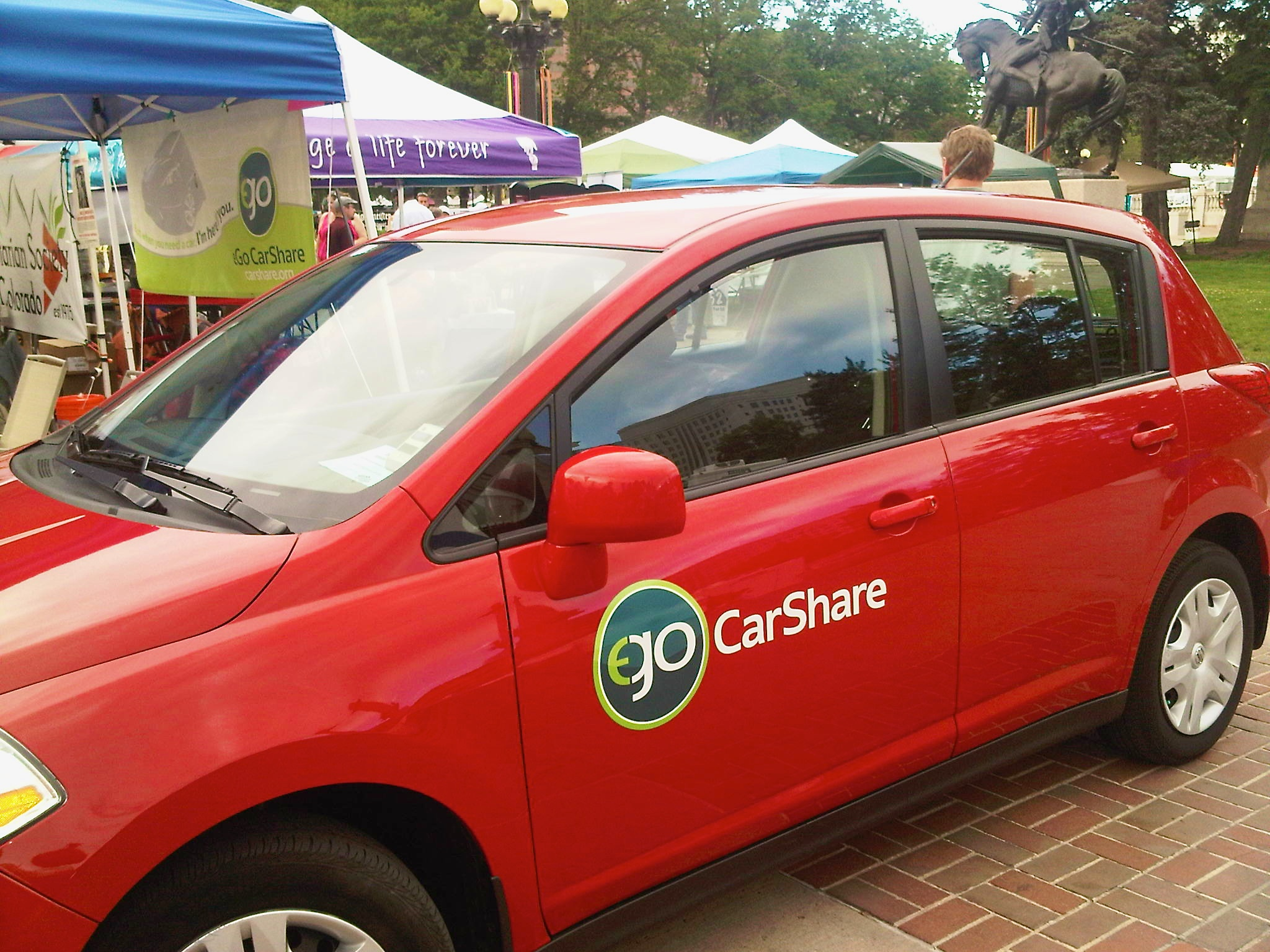People S Fair 2012 Ego Carshare Denver Beth Partin Restore And