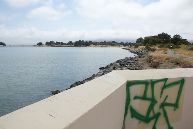 Candlestick Point State Recreation Area, view of San Francisco Bay, August 2014