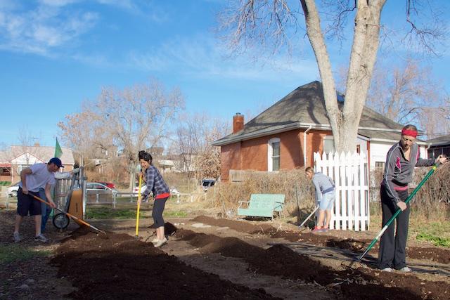 Urbiculture Sunnyside Garden spring planting Beth Partin 2