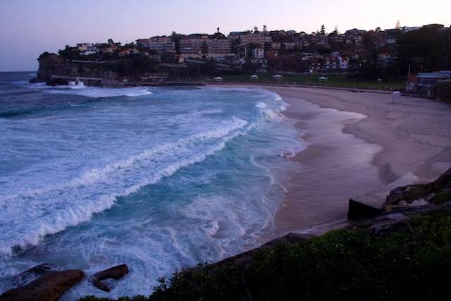Bondi Beach to Bronte walk, Sydney, Sept 2015