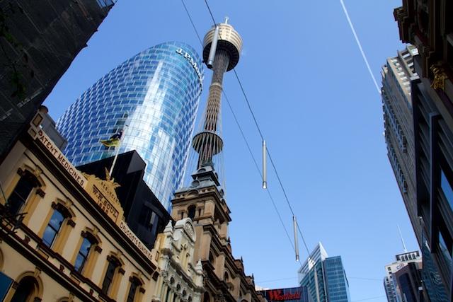 Pitt Street view Sydney Sept 2015