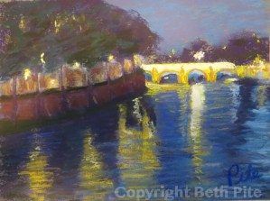 Pont Marie at Night