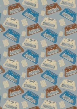 Illustrator final design 2 typewriter paper