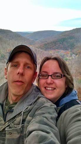Beth and Doug at Canyon Vista, PA