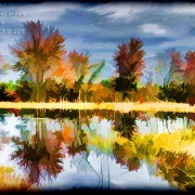 Fall Colors Reflection by Beth Sawickie http://bethsawickie.com/fall-colors-reflection