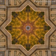 Windows to Autumn Mandala 4 by Beth Sawickie http://bethsawickie.com/windows-to-autumn-mandala-4 #mandala #kaleidoscope