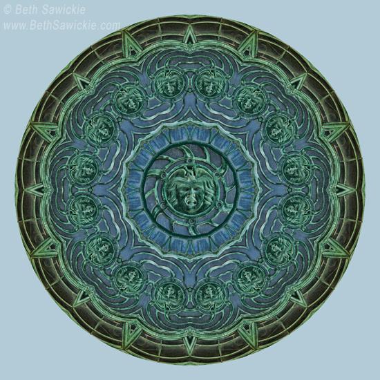 Image by Beth Sawickie www.BethSawickie.com/asbury-park-nj-carousel-kaleidoscope