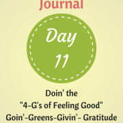 My Feel Good Journal Day 11 - http://www.BethSawickie.com