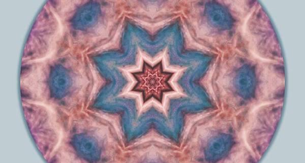 Pink Purple Blue Mandala by Beth Sawickie http://www.bethsawickie.com/pink-purple-blue-mandala