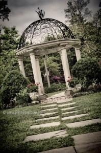 Temple Gardens at Sayen Gardens in Hamilton, NJ by Beth Sawickie http://www.bethsawickie.com