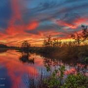 September Sunset Reflection photo by Beth Sawickie http://bethsawickie.com/september-sunset-reflection-photo