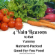 4 Vain reasons to eat healthy - Beth Sawickie